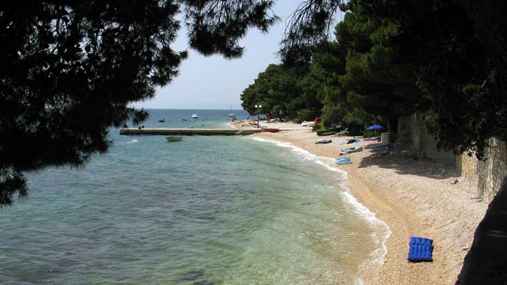 makarska holiday home on the beach