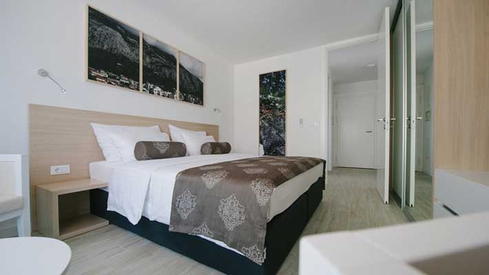 makarska luxury apartments on the beach